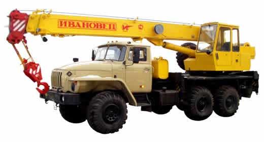 Ивановец УРАЛ КС-3574